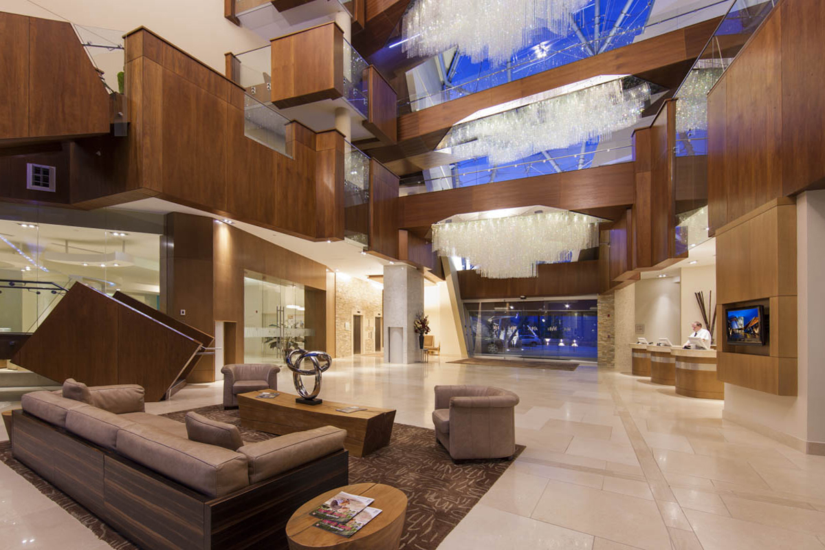 Architecture Shawn Talbot Luxury Hotel Resort Photographer Sparkling Hill Lobby