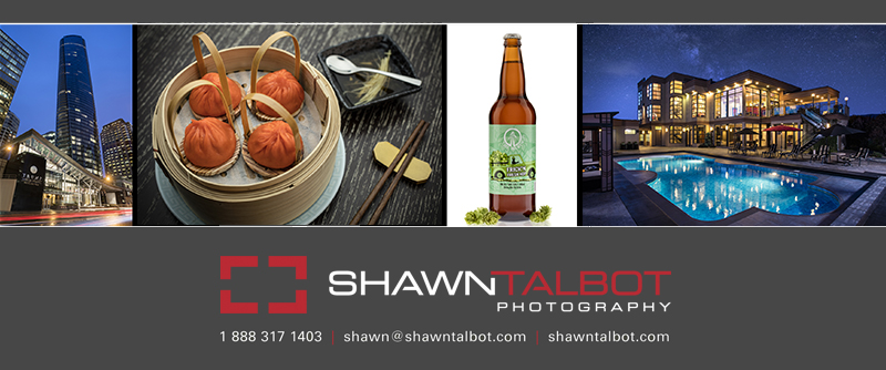 Shawn Talbot Commercial Photographer Kelowna
