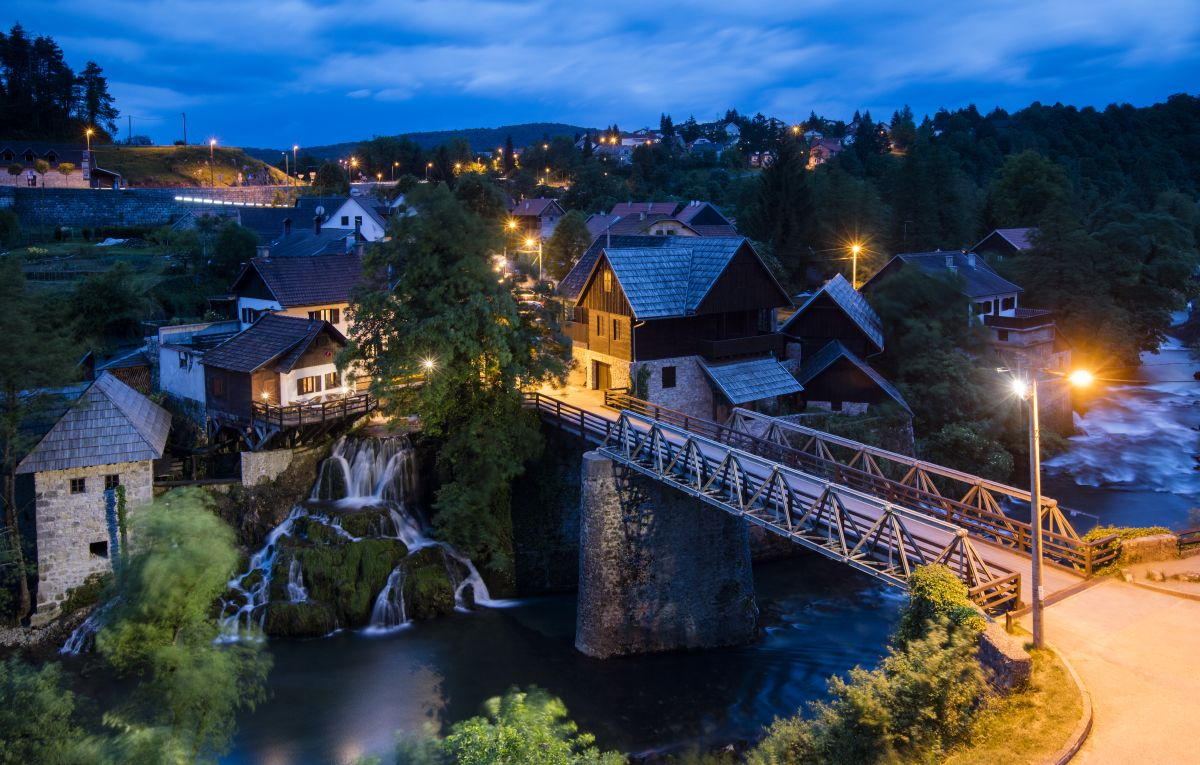 Shawn Talbot Croatia Travel Tourism Dusk