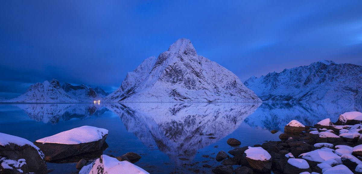 Shawn Talbot Norway Travel Tourism Dusk Reflection