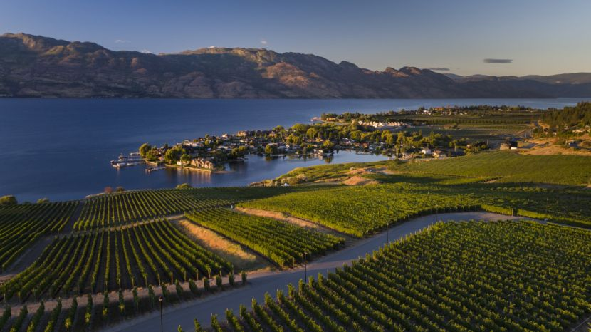 Kelowna Aerial photography