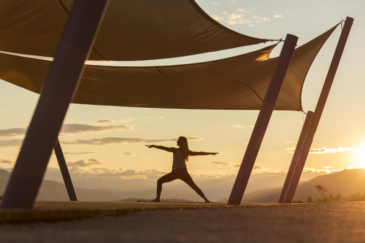 Commercial Photographer Kelowna - Yoga Lifestyle