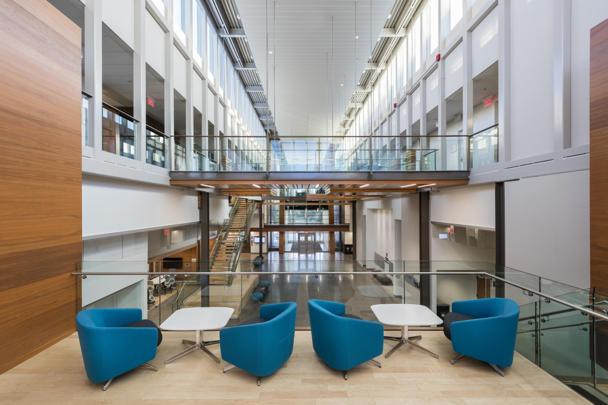 Commercial Photographer Kelowna - University of Calgary Architectural Interior