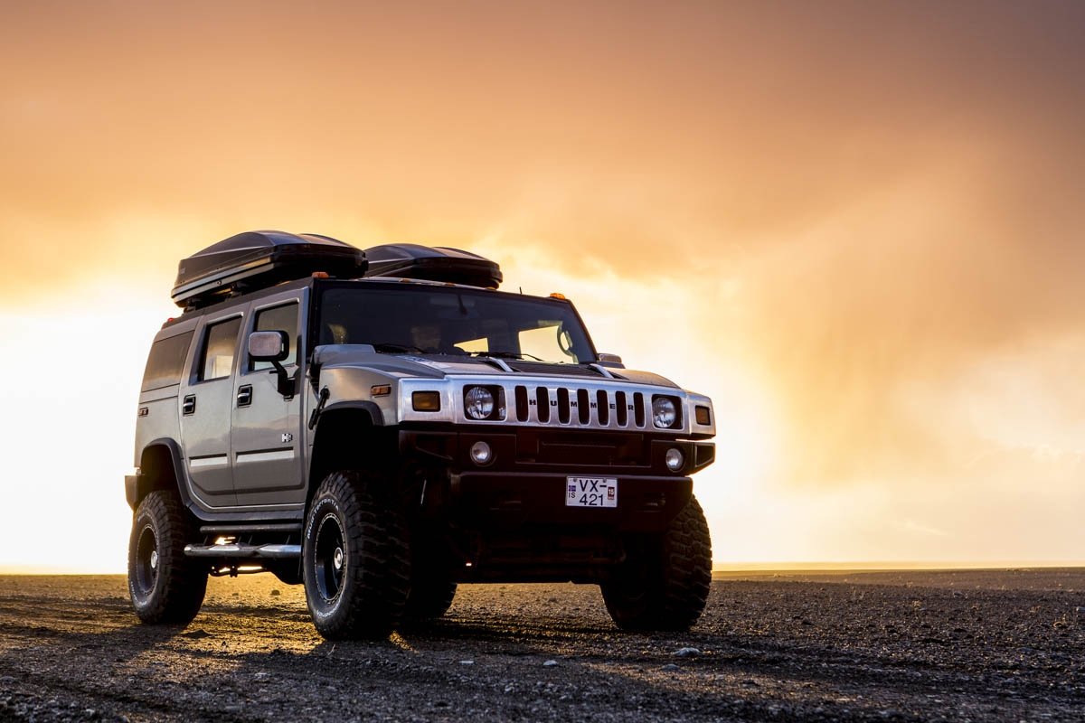 Shawn Talbot Kelowna Commercial Photographer iceland hummer