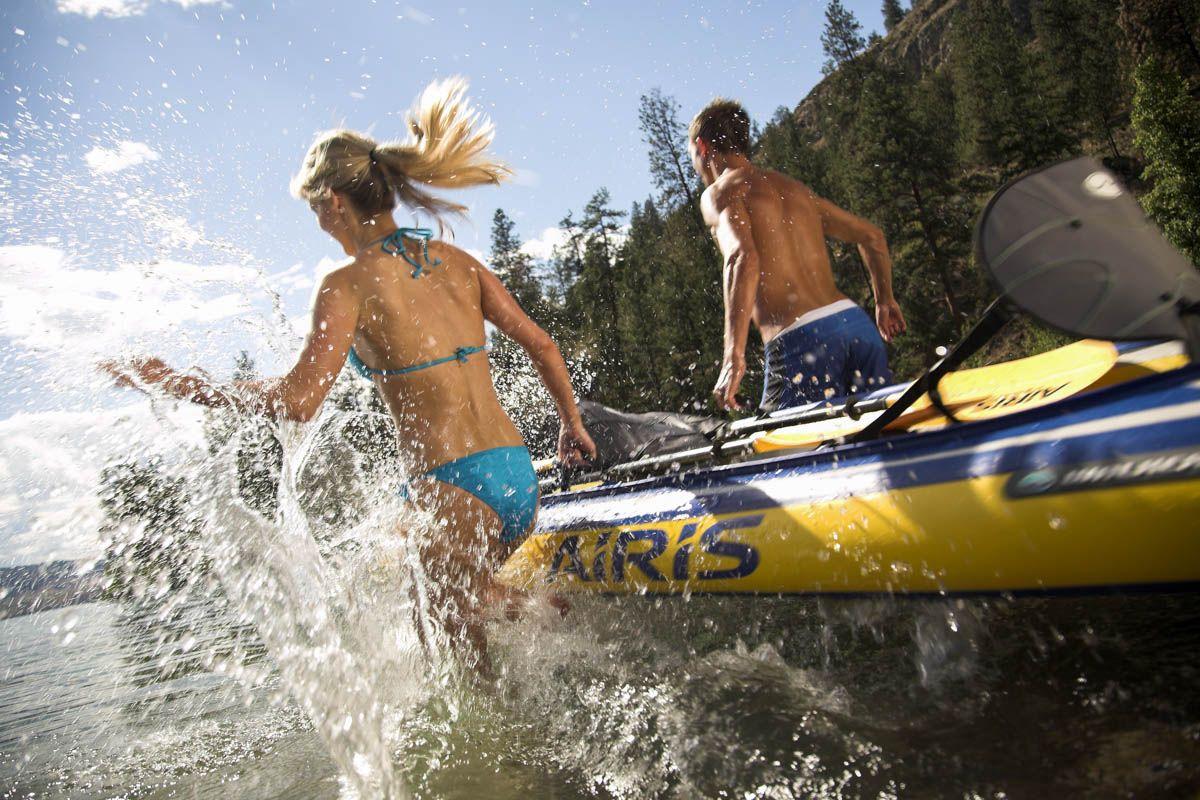 Shawn Talbot Kelowna Commercial Photographer walker bay kayak