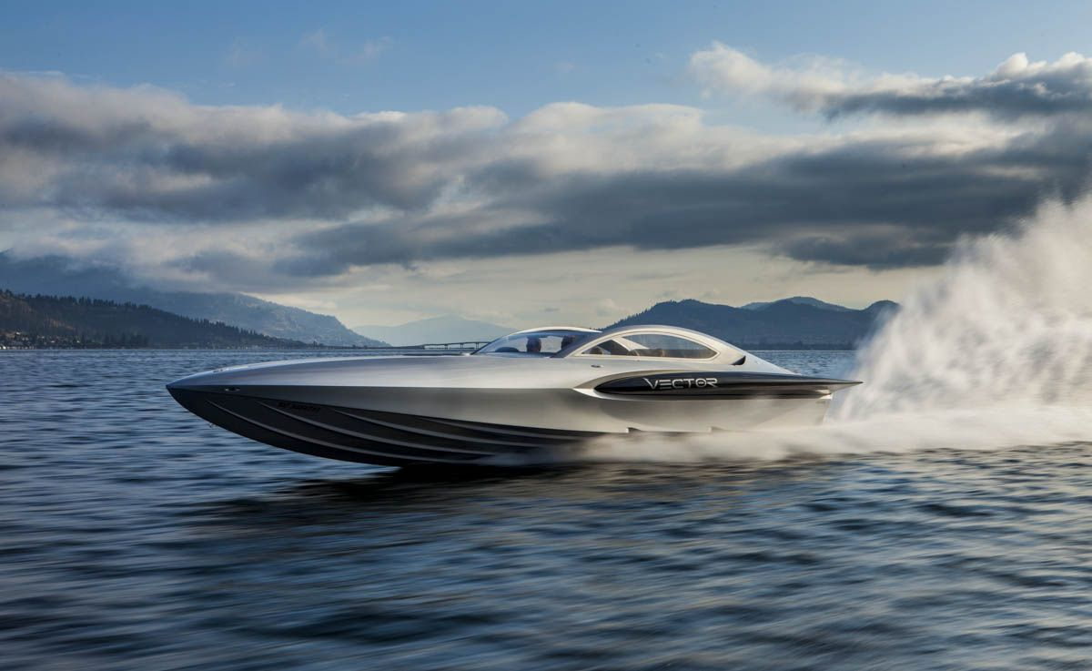 Shawn Talbot Kelowna Commercial Photographer vector powerboats