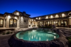 Shawn Talbot Kelowna Commercial Photographer luxury mansion pool