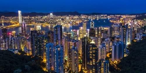 Shawn Talbot Kelowna Commercial Photographer hong kong skyline