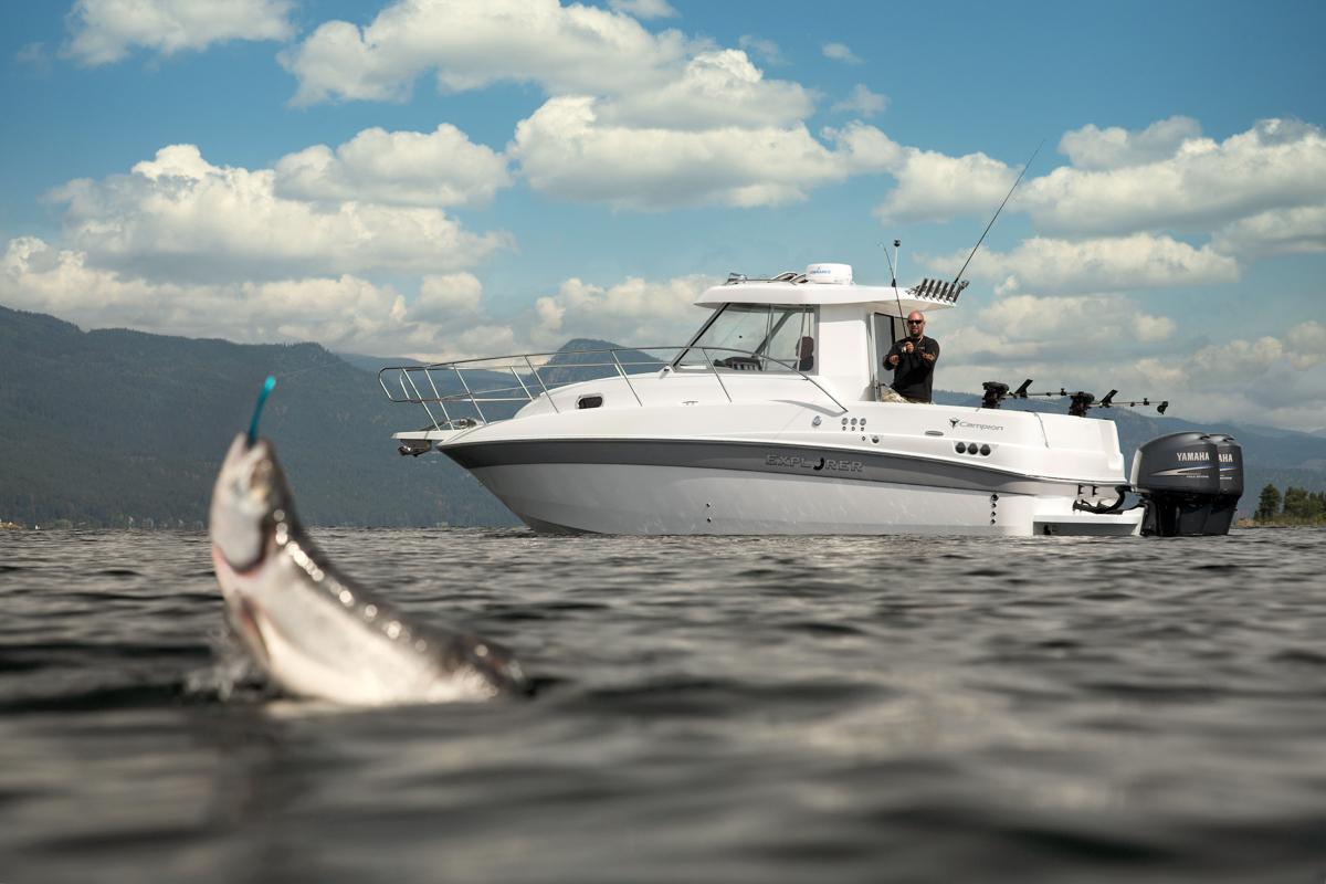 Shawn Talbot Kelowna Commercial Photographer campion boats fishing