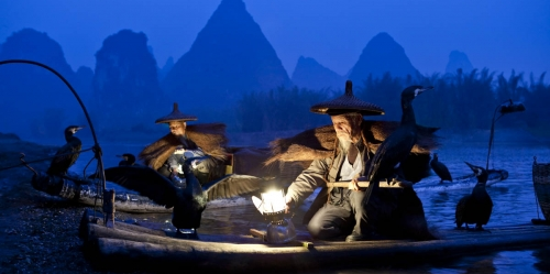 Shawn Talbot Kelowna Commercial Photographer guilin china cormorant fishermen