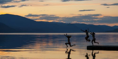 Shawn Talbot Kelowna Commercial Photographer McKinley Beach Lifestyle Sunset