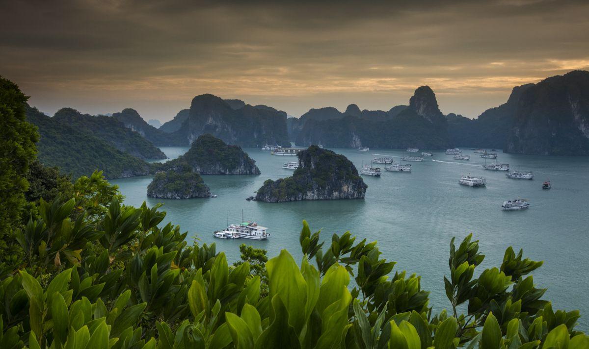 Shawn Talbot Vietnam Travel Tourism Halong Bay
