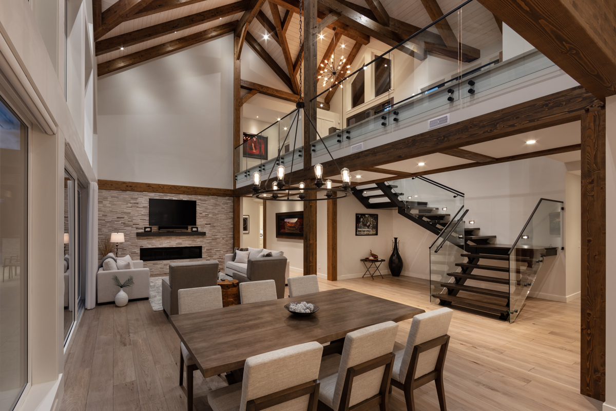 Shawn Talbot Kelowna Commercial Photographer timberframe architecture