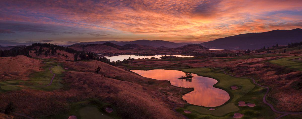 Shawn Talbot Kelowna Commercial Photographer predator ridge resort sunset