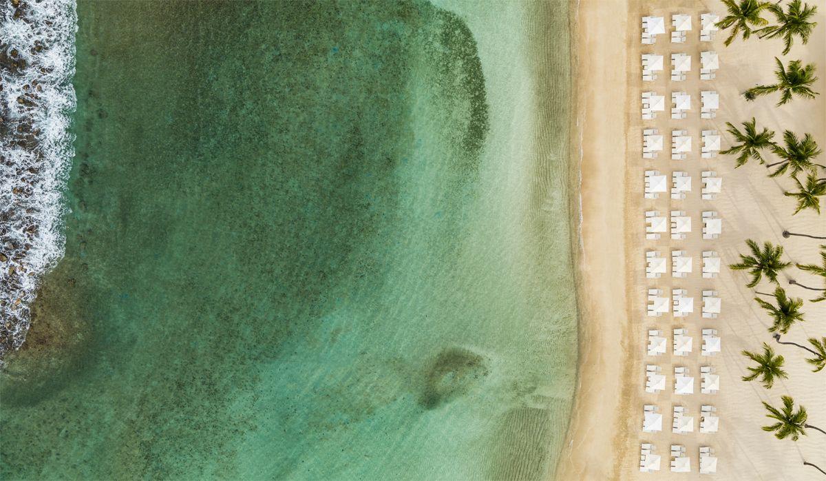 Aerial Shawn Talbot Luxury Hotel Resort Photographer Casa de Campo Minitas Beach