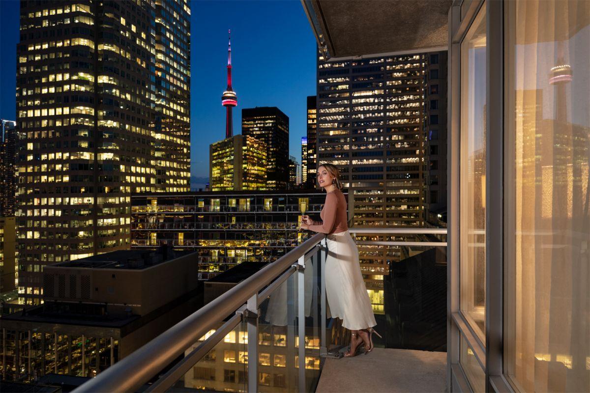 Lifestyle Shawn Talbot Luxury Hotel Resort Photographer Executive Cosmo Room Balcony