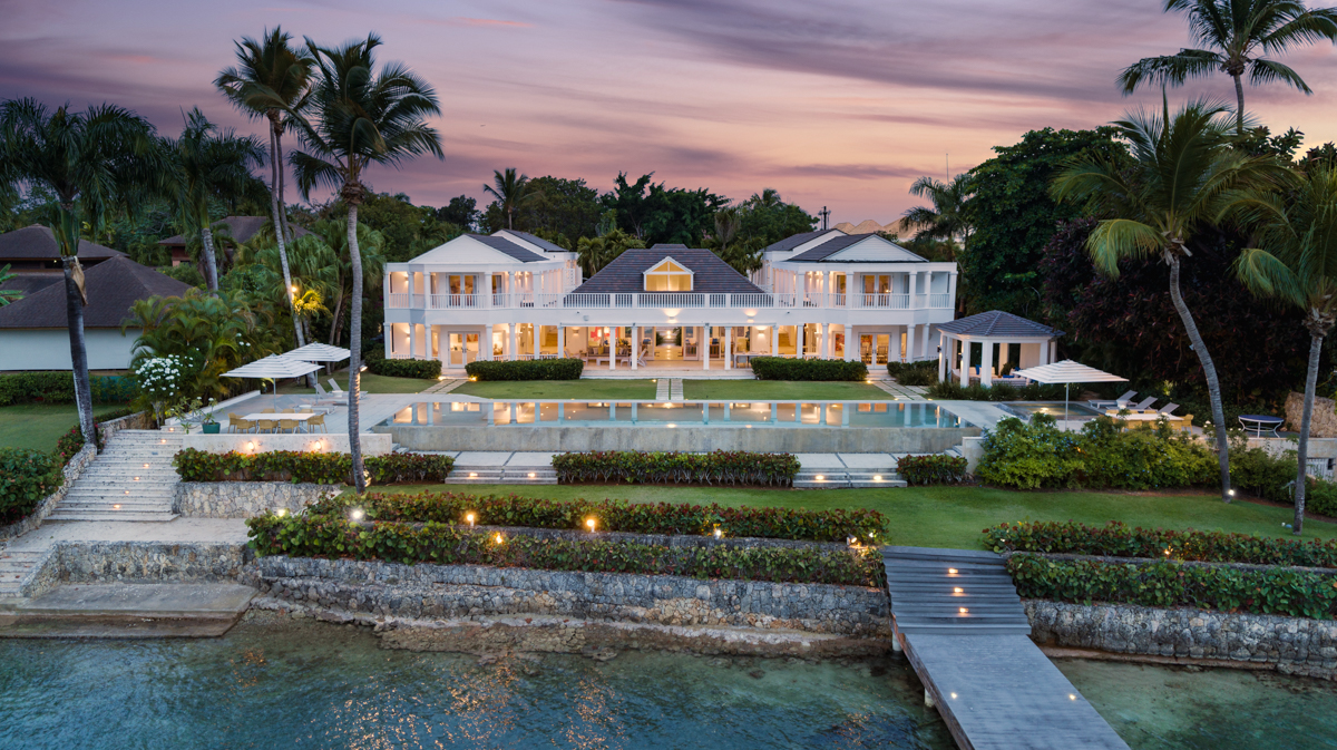 Aerial Architectural Photograph in Caribbean by Shawn Talbot Photography