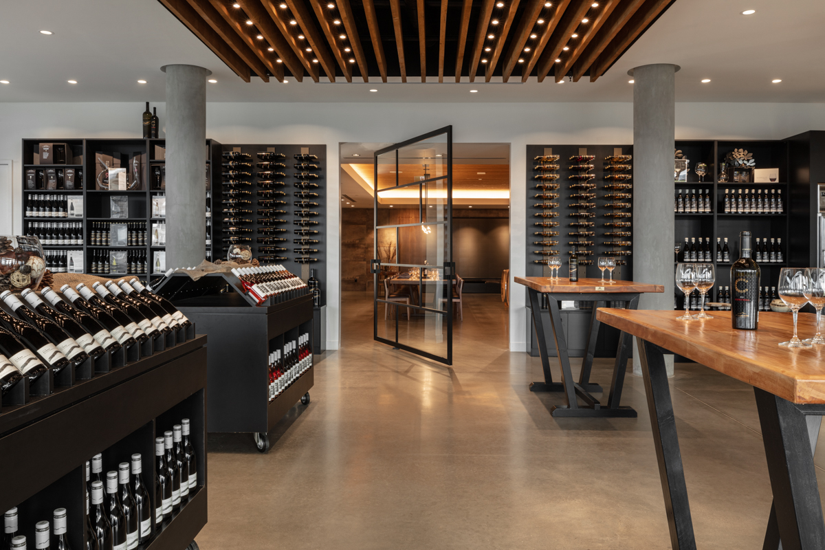 Mount Boucherie Estate Winery Architecture Photography by Shawn Talbot