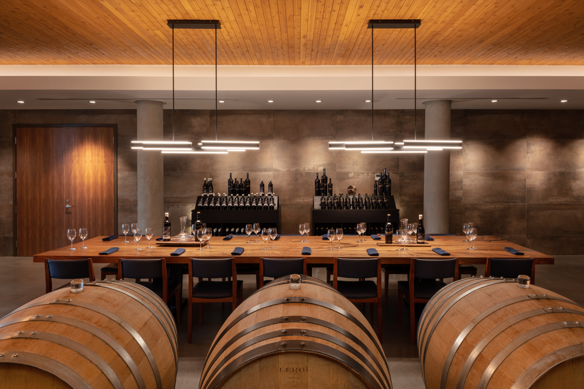 Mount Boucherie Estate Winery Interior Architecture Photography by Shawn Talbot