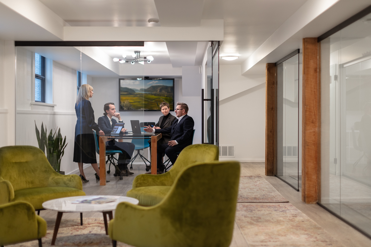 Corporate Advertising Photography of Sotheby's Office by Shawn Talbot