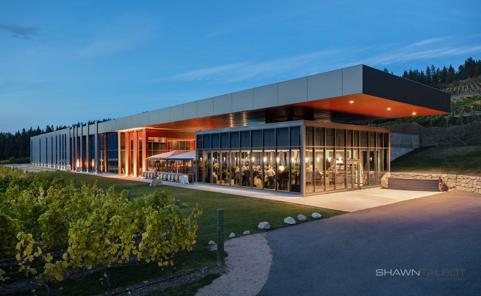Shawn Talbot Architectural Photographer Winery Exterior