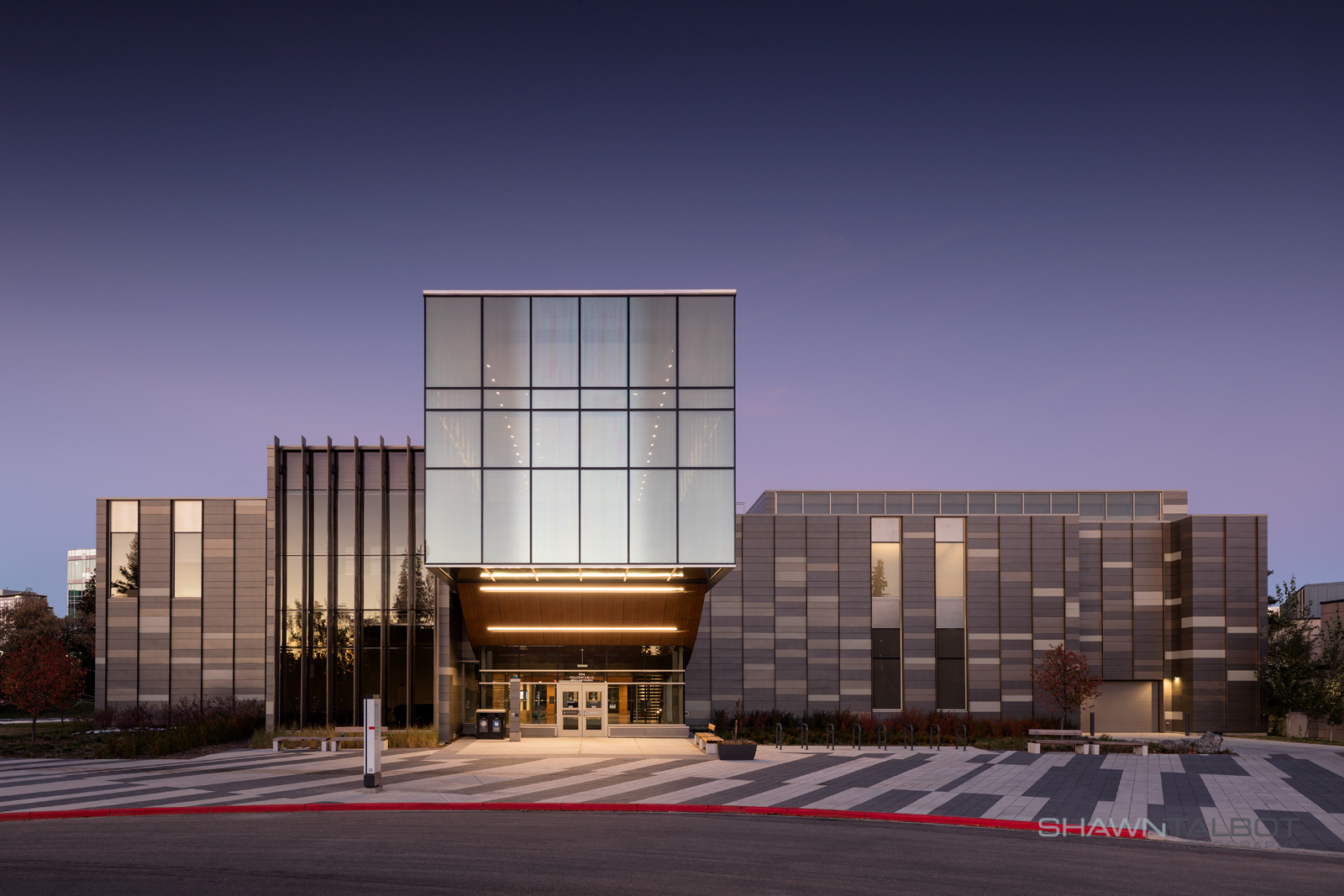 Shawn Talbot Architectural Photographer Calgary Building Exterior