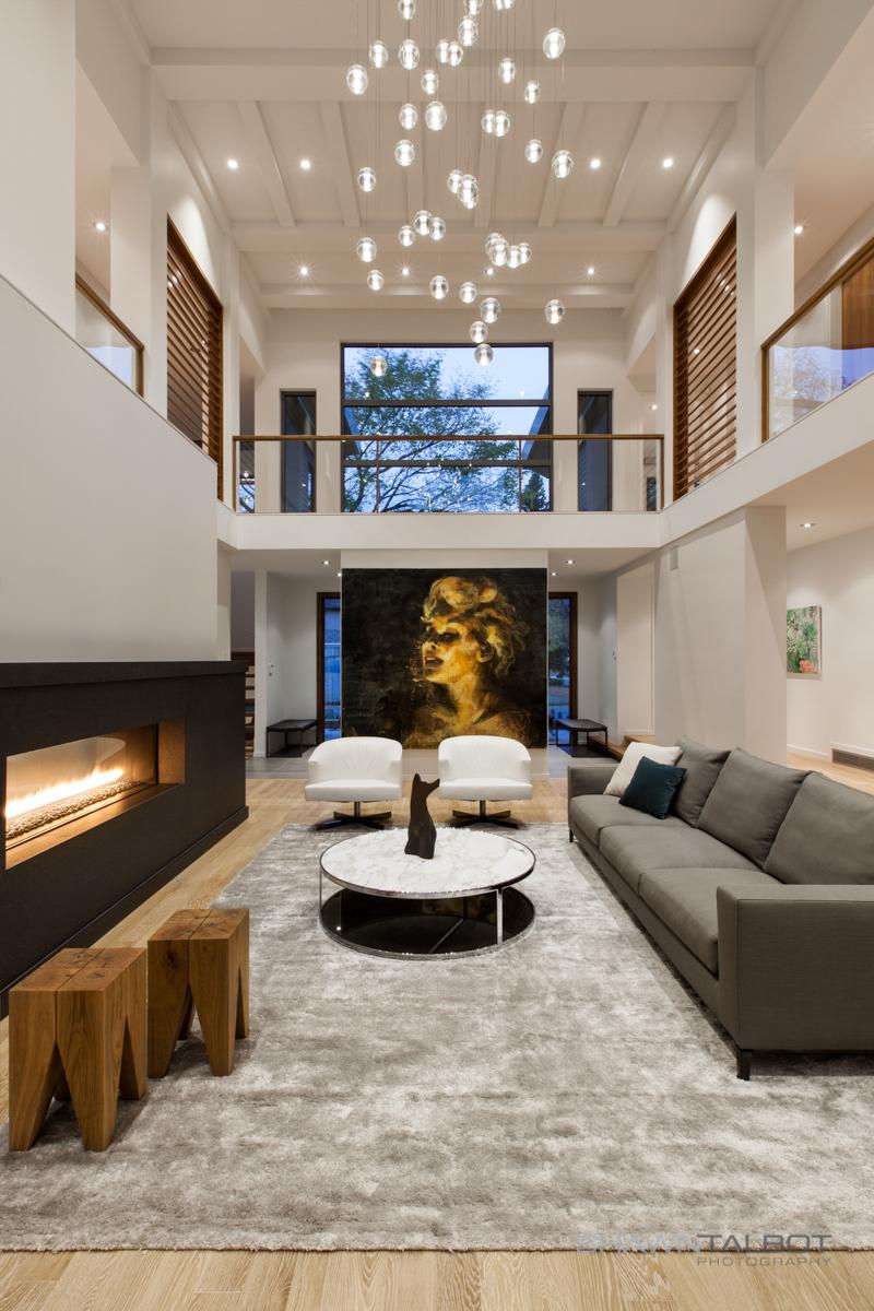 Shawn Talbot Architectural Photographer Edmonton Living Room Interior