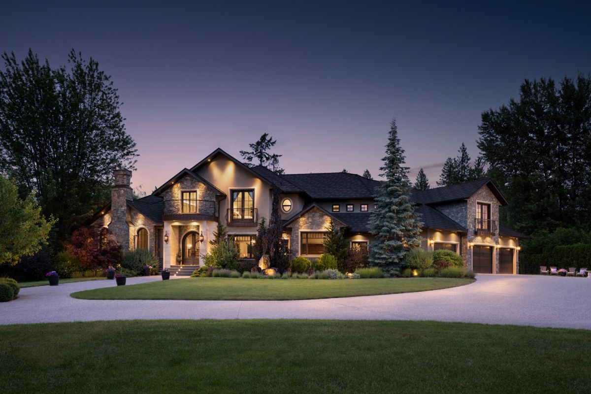 Shawn Talbot Architectural Photography Dusk Exterior