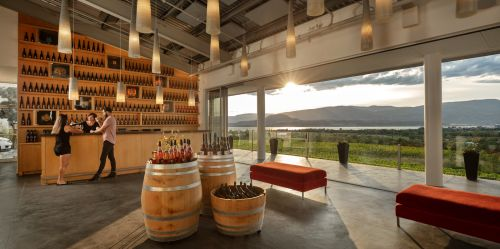 Shawn Talbot Architectural Photographer Winery Interior