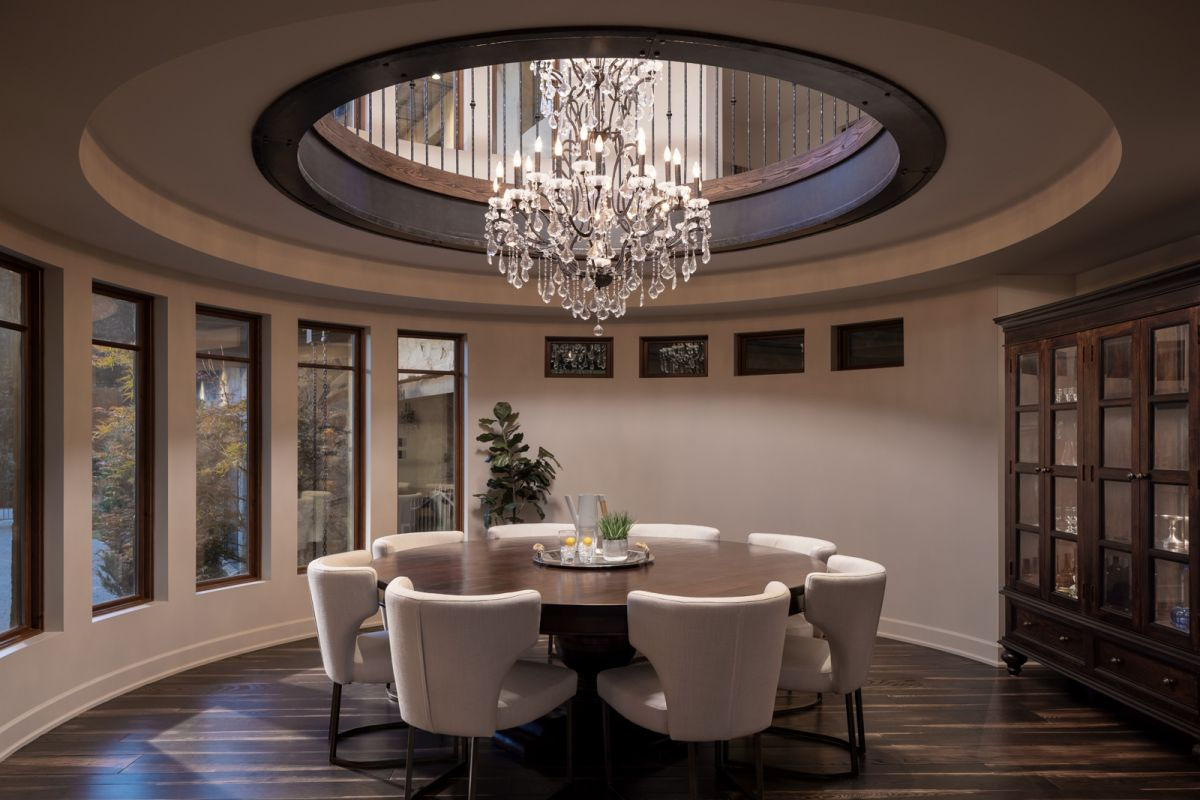 Dining room architectural photograph by Shawn Talbot